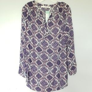 NWT Stitch Fix fun 2 fun Owena Split Neck Tunic